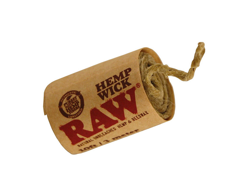 RAW TGA hemp wick